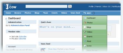 Jcow 4.2.1 - Free Social Networking